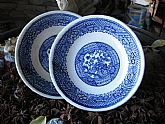 Blue Plates Oriental Design Looks like Blue Willow ready to match your Saucers Replacement Porcelain