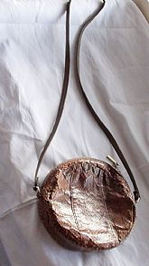 1980s Handbag Bag designed by Montaldo's In Italy in wonderfully Brown Snake skin Leather