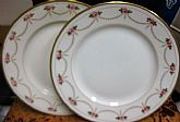 Antique 1900 TO 1914 Set of B and C Limoges France Dessert MELROSE Plates made in FRANCE On SaLe Now