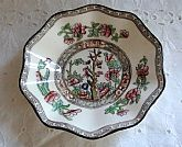 Antique Hard to Find English Dessert Plate Indian Tree England Coalport Leadless Glaze AD 1750 7