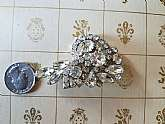 Beautiful large vintage brooch in great shape.  No missing stones or prongs.  AS IS