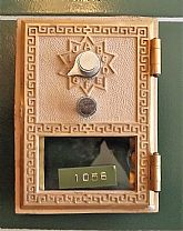 Brass P.O. Box Door