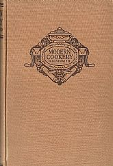 Modern Cookery, Illustrated, Lydia Chatterton, World War I era Recipes, 1946 Hardbound