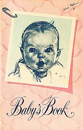 Gerber Baby Book, Never Used, 1935 Edition, 1950 Update