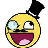 "Up for sale is a new ""Emoticon Gentlemen Like A Sir Smiling Happy Face Sticker""!"