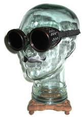 "Up for sale is a new old stock pair of Ultra RARE""Antique American Optical Bakelite Duraweld Goggles""!"