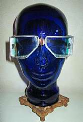 "Up for sale is a very cool pair of""Vintage NOS Wide Vision Pilot Goggles & Box""!"