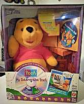 You will receive: (1) Disney My Interactive Winnie the Pooh Sing Talk Learn Plush Stuffed Doll Toy NewExtra Details: This is a vintage item from the 90's. This item is new in the box. Box has some damage, view photos for more accurate description.Tha