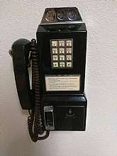 You will receive: (1) Vintage Collectible Teleconcepts Payfone JR. Wall Telephone/ Pay Phone BlackExtra Details: Phone does not come with the key but you can easily order the key off ebay. Does have a few scratches on the back. Lightweight, this phone i