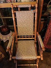 This is a vintage rocker from the late 1800�s.