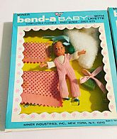 Bendable Doll never removed from package.