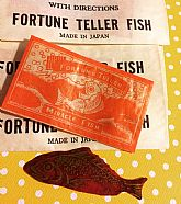 Unopened fun cellophane fish.