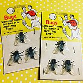 Unopened fake flies circa 50s/60s.