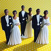 Wedding cake topper from 1959.