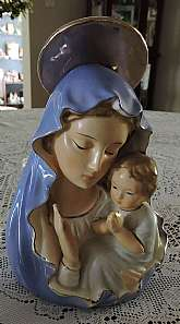 Vintage Artmarx Japan Virgin Mary with Child