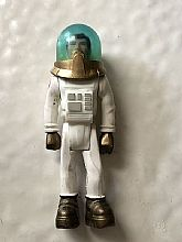 Toy figurine of a spaceman by Fischer Price.