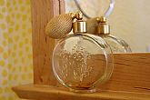Avon Patchwork Cologne Elegante Atomizer Decanter