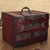 This is a reproduction of Antique jewelry box used in 1920's