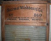 "Late 1940's ""National Washboard"" #860 By: The Glass King/Top Notch"