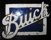 1920's Enamel/Buick Radiator Badge