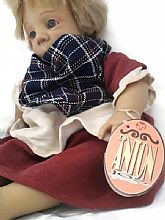 ORIGINAL VINTAGE DANTON DOLL BABY GIRL DOLL THE 90 SPANISH COLLECTION 37 CM