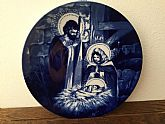 "1991"" The Holy Family"" Collectible Avon Plate"