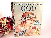 Little Golden Book About GOD - Picture Story Book for Children.   