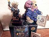 BOYDS Bear Collector's Liberty Bears Gift Set contains four (4) unused Friends of Boyd's treasures