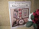 Father Christmas II Cross Stitch Patterns. Collection of Antique Santas, Nostalgic Christmas Stocking and Wall Hangings.