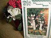 Snowshoe Bunnies and Forest Friends Patterns for Christmas Decorations. The Country Quayle, 1993