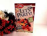 Vintage 1990 Betty Crocker Let's Party recipe magazine.