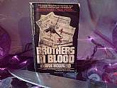 Brothers In Blood True Crime Horror Book Vintage Paperback Clark Howard Author Non Fiction Murder Historical Collectible Thriller Spooky Halloween Reading Scary Terrifying Chilling. This is a true crime thriller, reminiscent of the true crime thriller, &q
