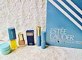 Estee Lauder Cosmetics & Perfume Set Vintage NIB 2 Perfumes Lipstick Liquid Makeup Mascara Eye Care Creme Sampler Gift Set Valentine Anytime Gift Anyone. This is a sampler set of my Grandmother's estate collection. There are 6 different things in this