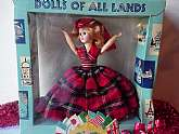 "Scotland Girl Doll Vintage Dolls of All Lands 8"" Doll NIB Collectible A&H Doll Corp USA Sleepy Eye Doll"