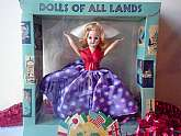"Holland Girl Doll Vintage Dolls of All Lands 8"" Doll New NIB Mint Collectible Doll A&H Doll Mfg Corp USA Sleepy Eye Doll"