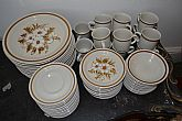 Large set of 1970's stoneware. Made in Japan.