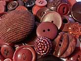Lot of 100 random assorted vintage to newer Burgundy/Wine/Plum buttons mix. Mix of various sizes, shapes, hues of wine color & burgundy, etc. Lots will vary as exact buttons received will differ from those in the photo as its difficult to duplicate