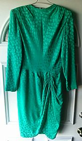 Cute dress made in France green dress size S