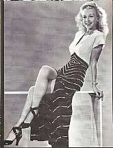 Vintage Media Image of Carol Landis in Having a Wonderful Crime - 1945