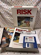 Vintage Virgin Games The Comptuer Edition Risk the Word Conquest Game - 1989