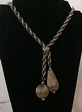 Rope Chain Charm Necklace