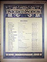 This piece of sacred sheet music was published in 1911 by the Oliver Ditson Company.  It was arranged for the piano by Heinrich Kiehl, and the lyrics written by L. S. Knollenberg.  This music will be a great acquisition for anyone that enjoys playing, sin