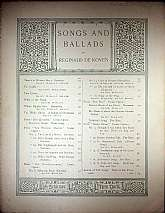 This piece of sheet music was published in 1894 by the G. Schirmer Incorporated.  It was arranged for the piano, and the lyrics written by Reginald DeKoven.  This music will be a great acquisition for anyone that enjoys playing, singing to, or collecting