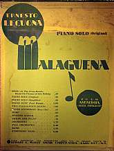 This 1932 sheet music by Ernesto Lecuona will be an awesome acquisition for any pianist's music library!  While unknown by most people, Lecuona is pretty much singlehandedly responsible for bringing the music of Cuba to the United States in the late 1920s