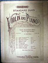 This antiquarian sheet music was published by the Century Music Publishing Company of New York in 1912.  The music was arranged by a M. Greenwald.  This is instrumental sheet music only.  It has sheets for the piano, and both the first and second violin.