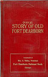 This first edition antiquarian book is a history of what is now the City of Chicago, Old Fort Dearborn.  It will be prized by anyone interested in the history of the Chicago, IL area.  The book has eleven beautiful plates in it, and also has deckled edges
