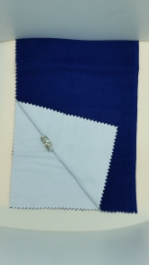 Ultra Soft Jewelry POLISHING CLOTH 2 Cloth System 12 x 14 100% Cotton Fibers