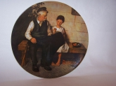Collectible Norman Rockwell Plate The Lighthouse Keeper's Daughter