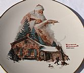 1975 Norman Rockwell Christmas Plate
