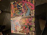 DC Comics Justice League of America #220 Come closer justice society and learn the true origin of the black canary! NOV 1983 & # 223 In battle with the beast men! FEB 1984 ENDGAME!!!! (2-pack bundle)